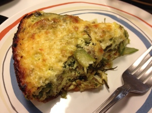 A perfect slice of my Frittata