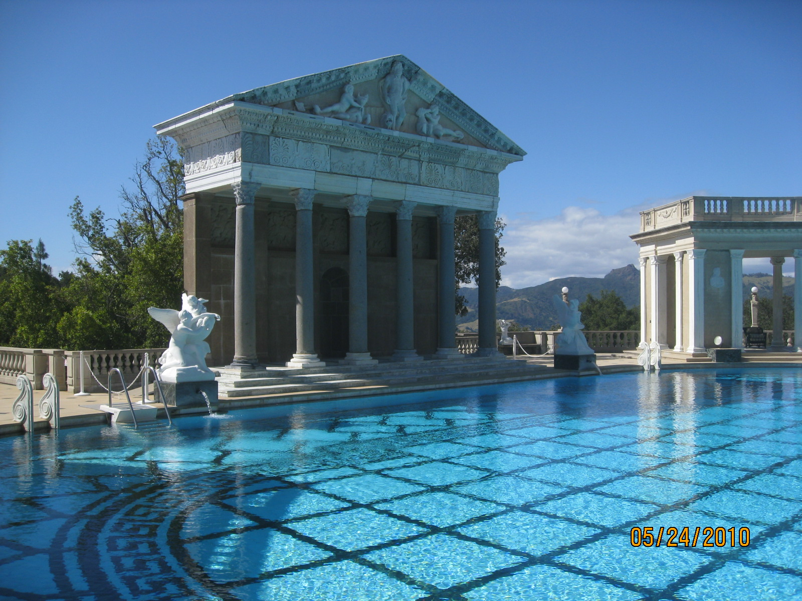 My california gold hearst castle enjoying my path - Hearst castle neptune pool swim auction ...