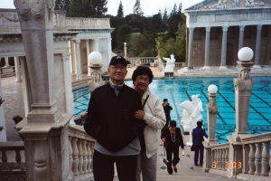 Circa 2003 - With my parents (Neptune Pool)