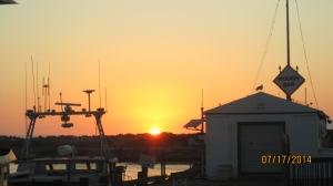 Sunset at Morro Bay Harbor