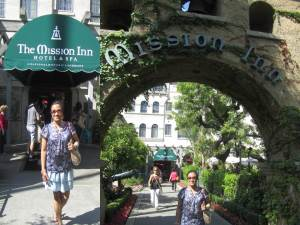Mission Inn main entrance